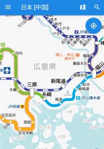 JR山陽本線の福山〜三原駅間が運転再開