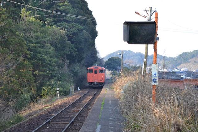 山陰本線越ヶ浜駅