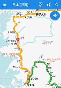 JR予讃線の八幡浜〜卯之町駅間が運転再開