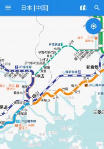 山陽本線笠岡〜福山駅間が運転再開