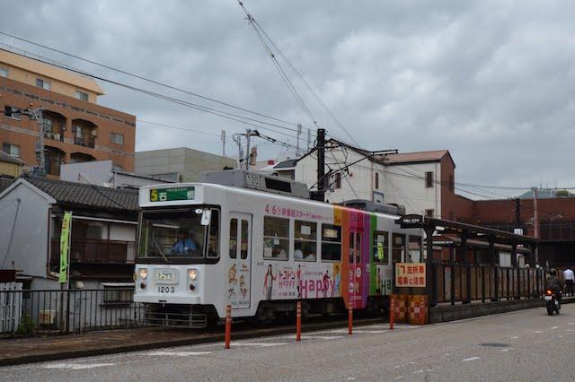 長崎電気軌道の電車