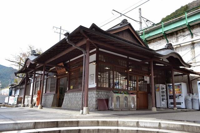 アウトドア拠点としてリニューアルが予定されている御嶽駅駅舎