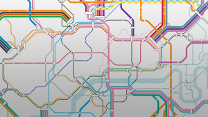 「路線図」バーチャル背景